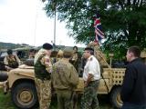 Discussing British Army landies.