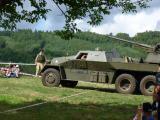 A Czech armoured anti-aircraft gun platform.