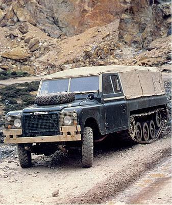 Prototyp P1 při testech v dolech na měď v Anglesey