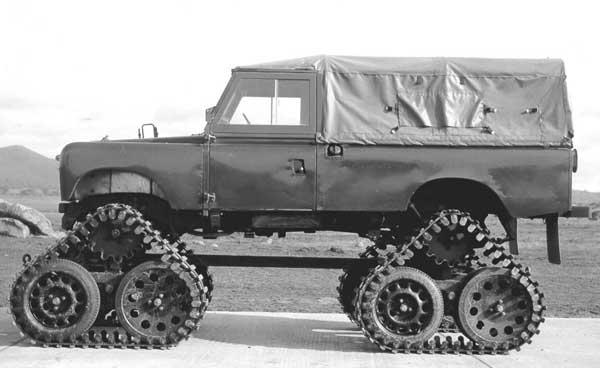 """LR S2 109"""" testovaný britskou armádou"""