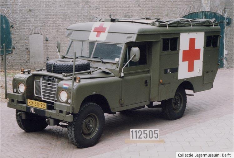 Ambulance nizozemské armády