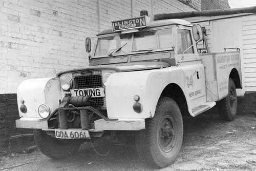 """Prototyp Land-Rover 129"""" - již odprodán civilnímu uživateli"""