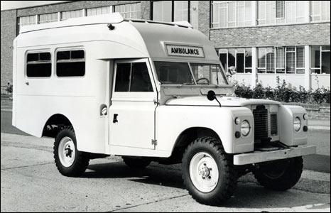 Ambulance na podvozku S2A, připravená pro export do Dubaje