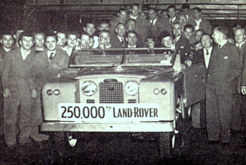 250 000. postavený vůz LR