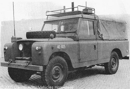Mobilní kontrolní věž (Tactical Air Control Party) dánské armády