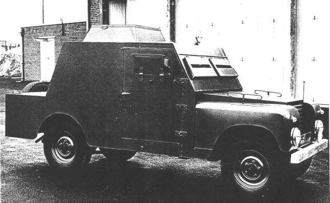 První prototyp obrněného automobilu Shorland