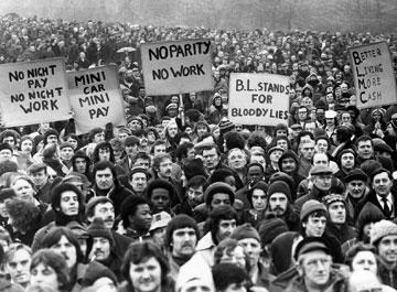 Stávka zaměstnanců BL