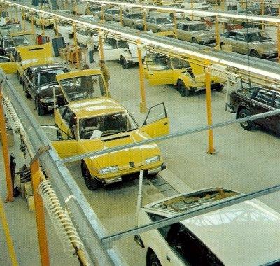 Výroba vozů Rover SD1