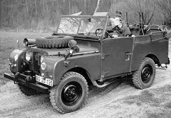 Tempo Land-Rover druhé série