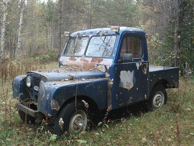 Další fotka švédského pick-upu
